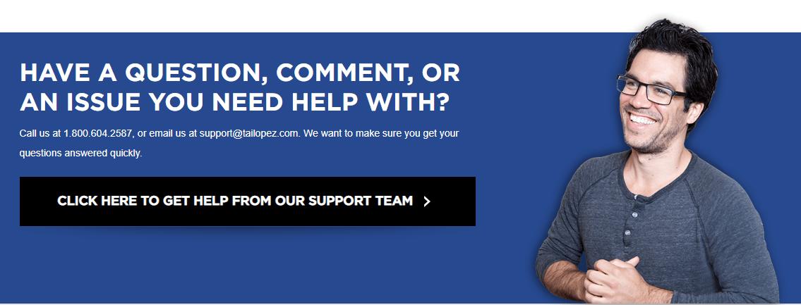 tai lopez customer support
