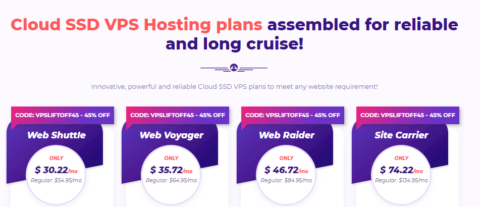 hostarmada vps hosting pricing