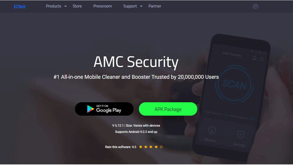Advanced Mobile Care Security Main