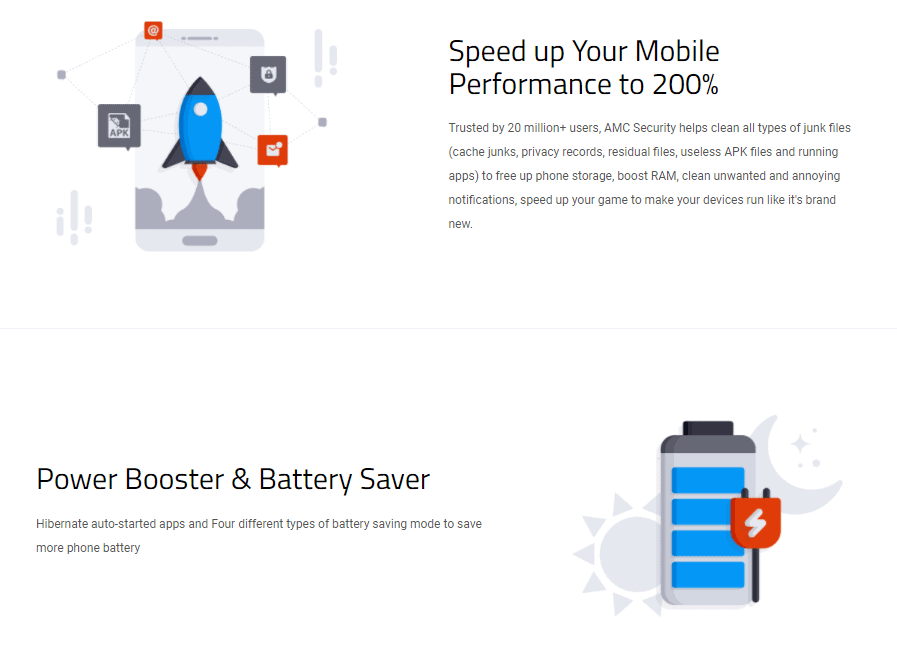 Advanced Mobile Care Security Speed