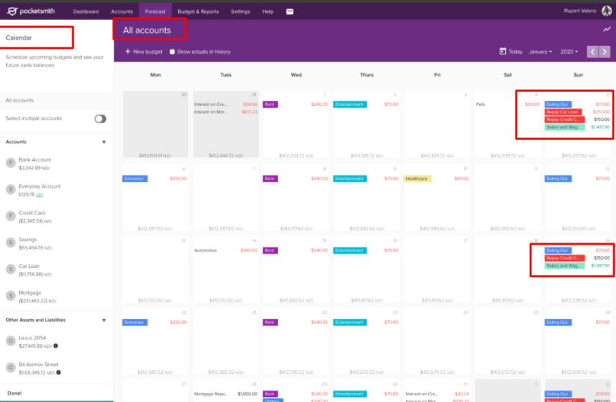 Budget-Calendar-See-your-daily-balances-PocketSmith-PocketSmith