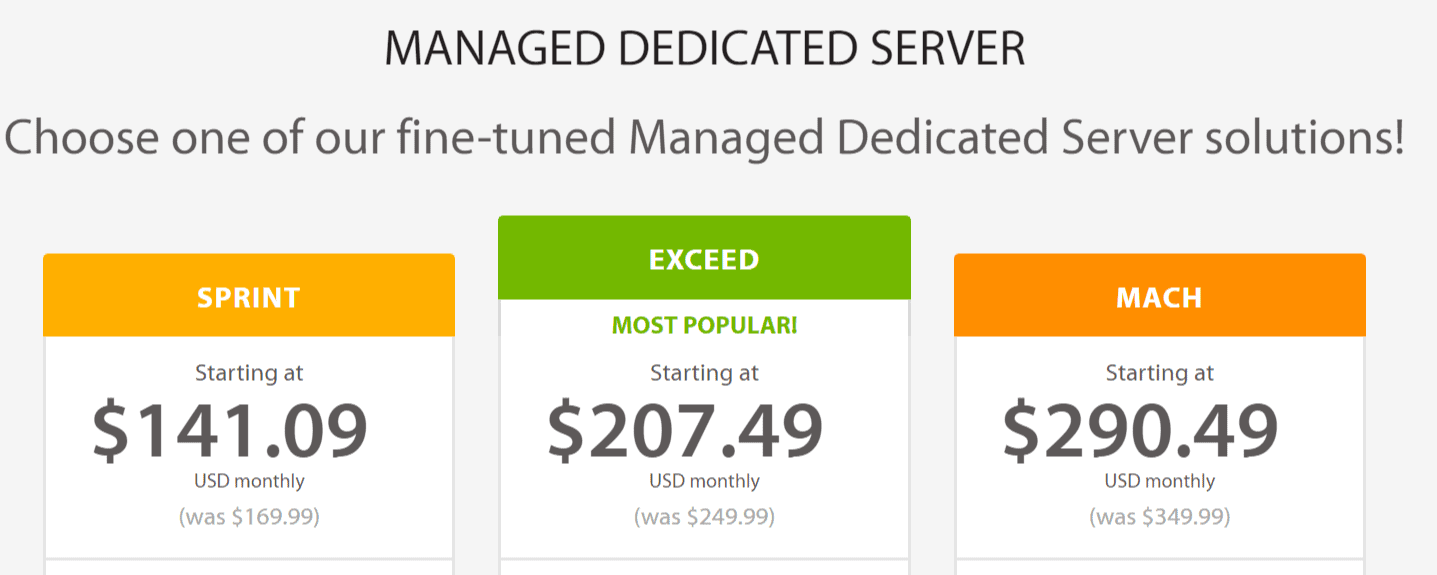A2 Hosting Review-Dedicated Servers