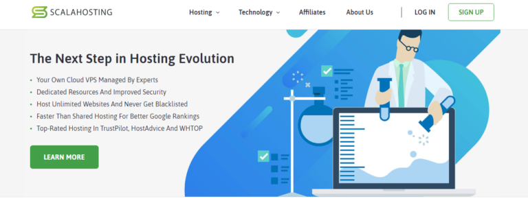 ScalaHosting Review- Cloud Hosting & Discount coupons