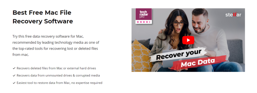 Stellar Data Recovery For Mac Review Recovery