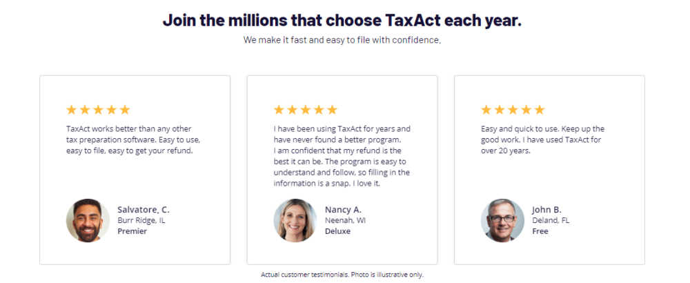 TAxAct Review- Customer Review