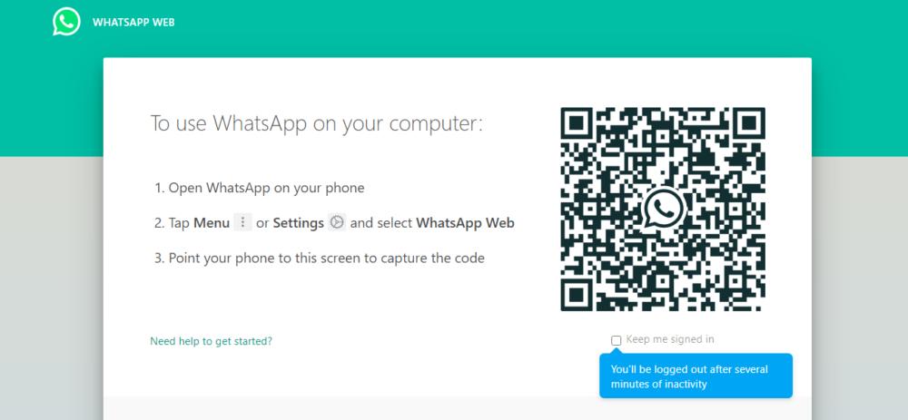 Whatsapp for PC - whatsapp web