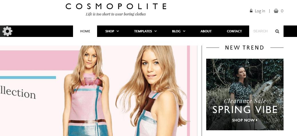 cosmopolite- e-commerce