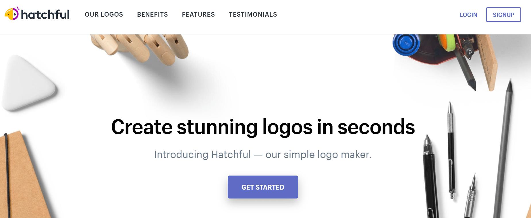 hatchful review- Best Logo Design Websites