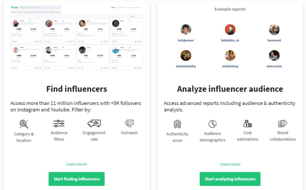 Heepsy Find And Analyze Influencer