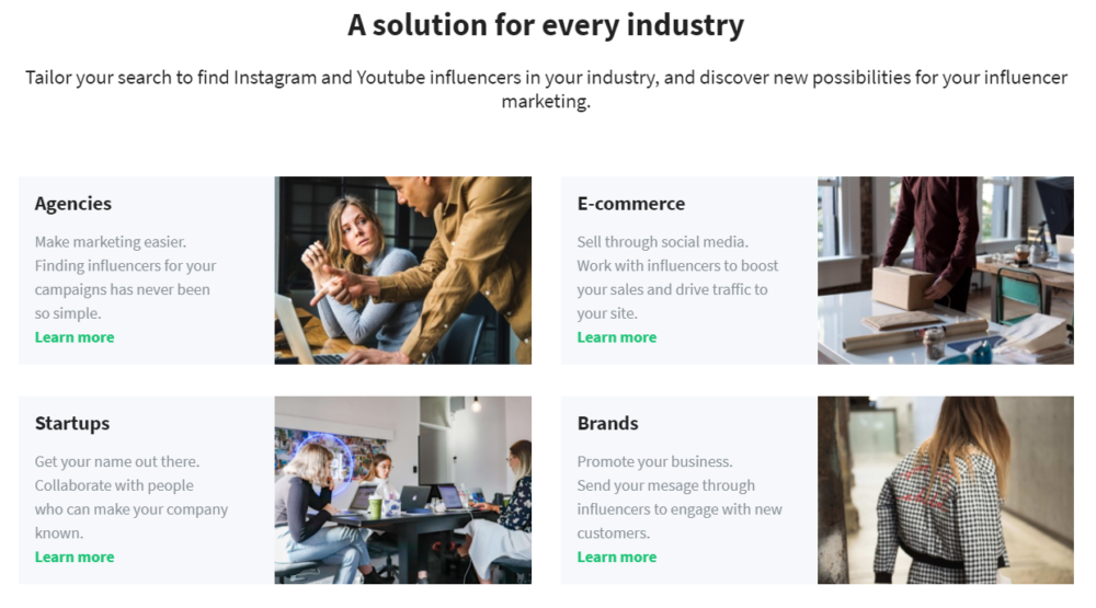 A Solution For Every Industry