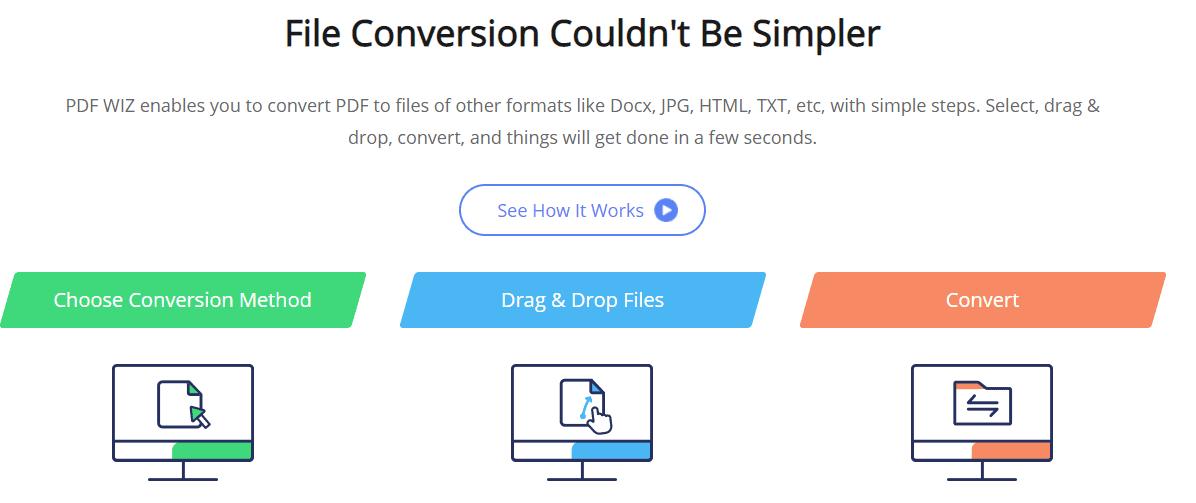 pdf wiz review- easy file conversion