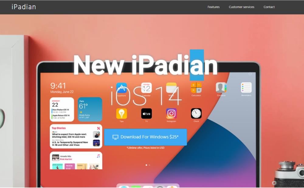 iOS Emulators iPadian