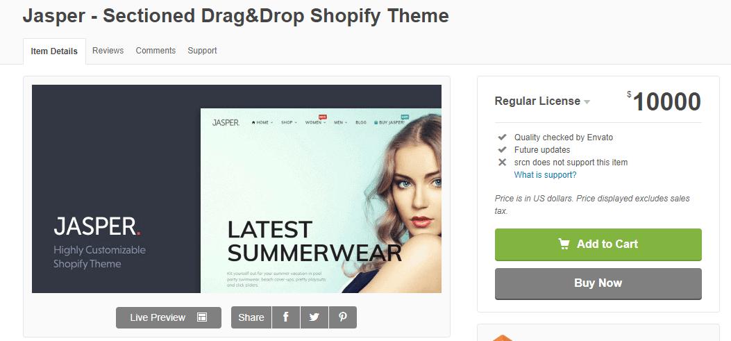 jasper- drag&drop