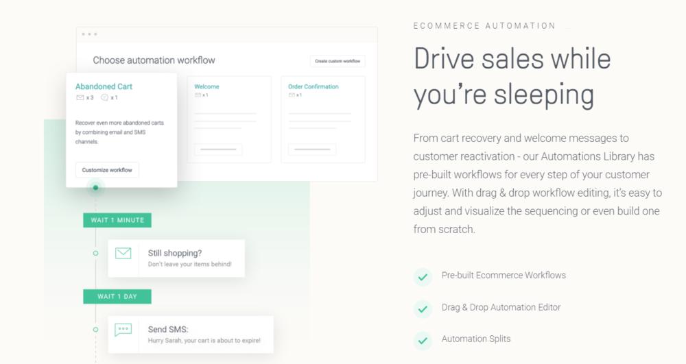 Omnisend Drive Sales