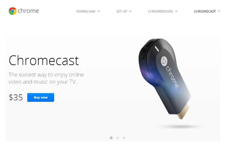 Setup Chromecast on Windows 7