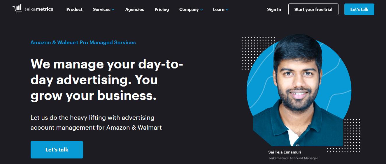 amazon & walmart pro managed services