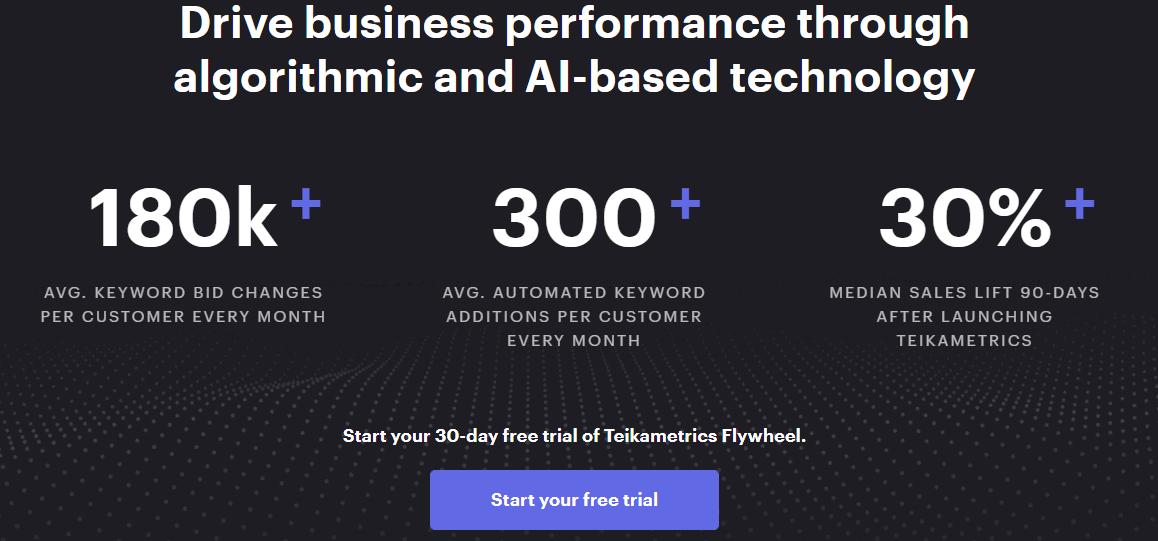 algorithmic bidding - AI-based technology