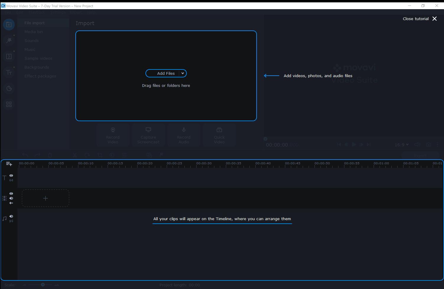 Adding files in movavi- movavi video plus review