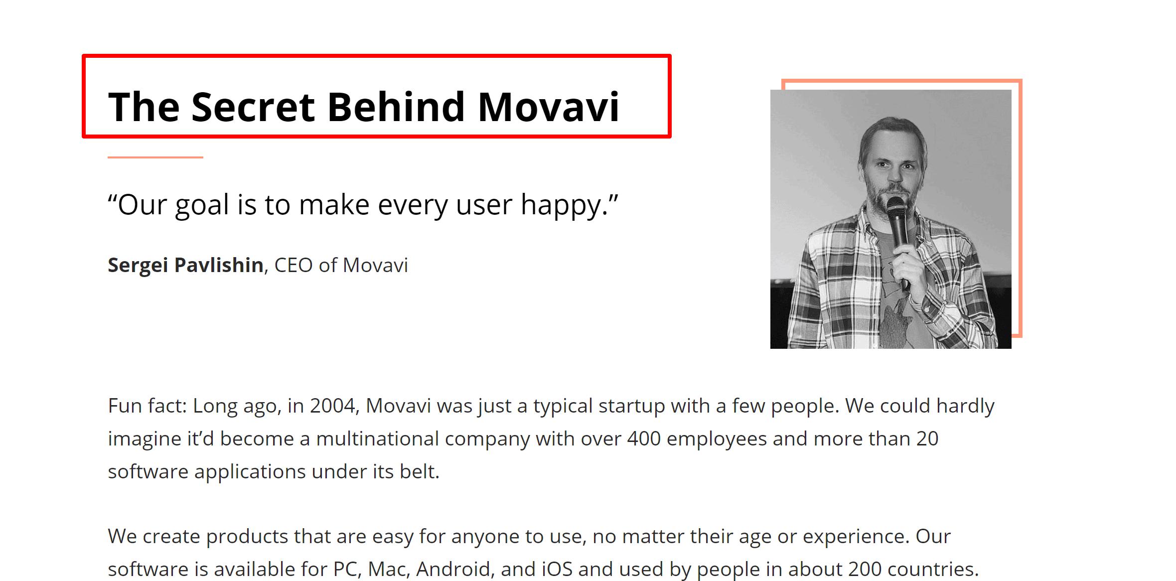 Movavi founder- movavi video editor review
