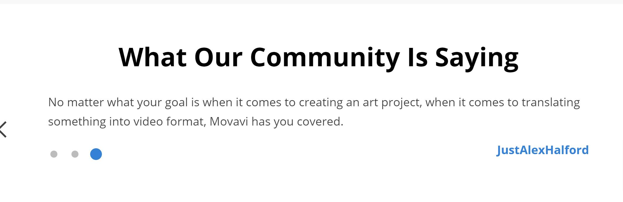 Movavi reviews and testimonials- movavi video editor review