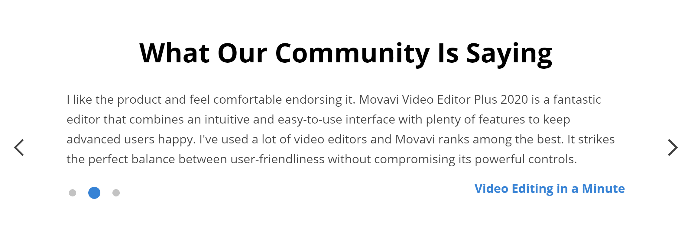 Movavi reviews and testimonials