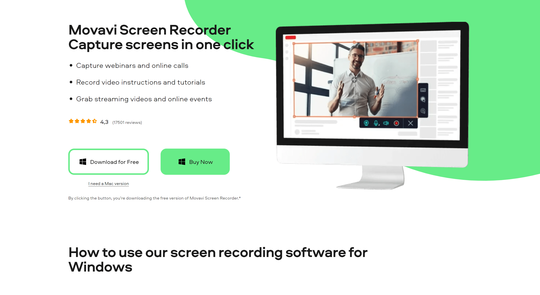 Movavi screen recorder- movavi review