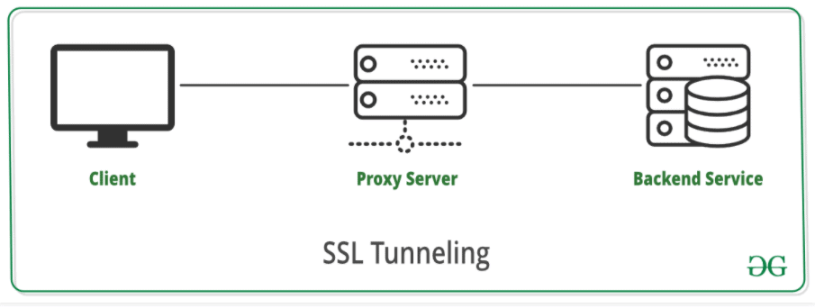 SSL tunnelling