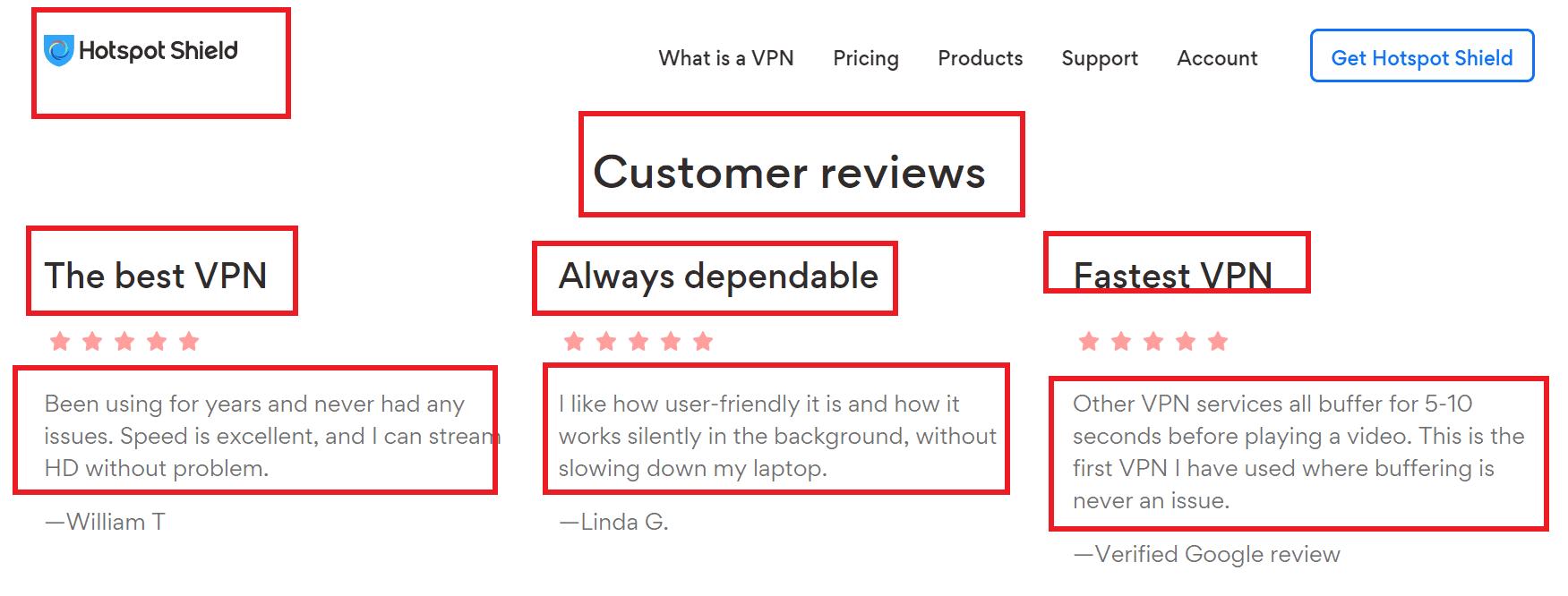 hotspot shield customer reviews
