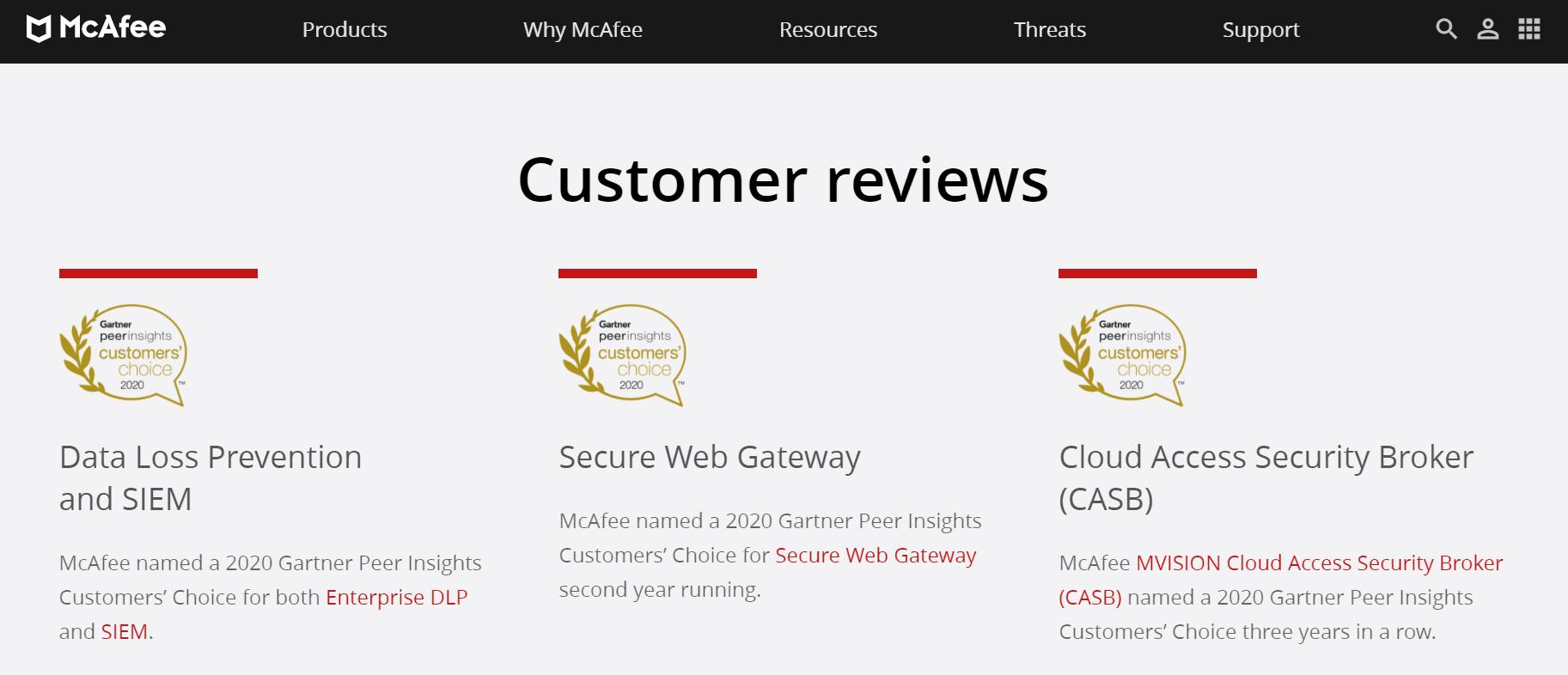 mcafee coupon codes- customer reviews