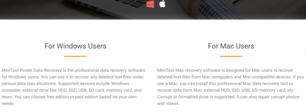 MiniTool Power Data Recovery Users