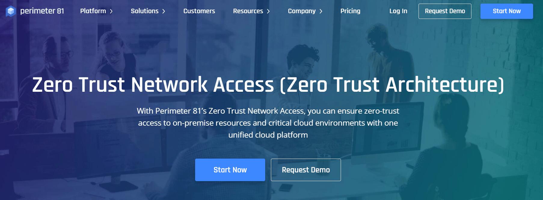 zero trust network access