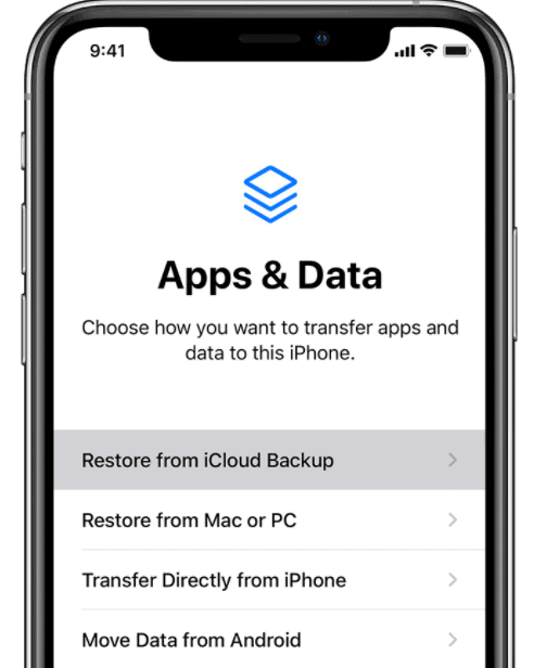 Recover Deleted Photos through icloud