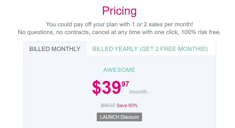 sellthetrend pricing