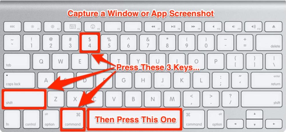 Take Screenshots on Mac Shortcuts