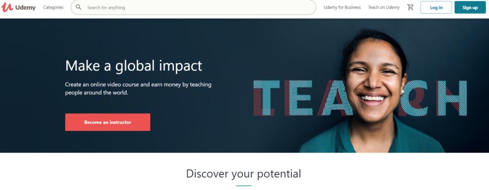 Udemy Teach make a global impact