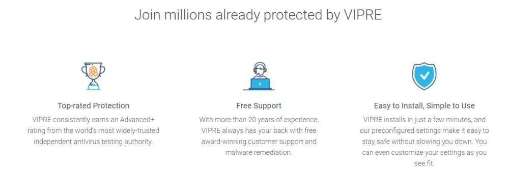 Vipre Antivirus Protection