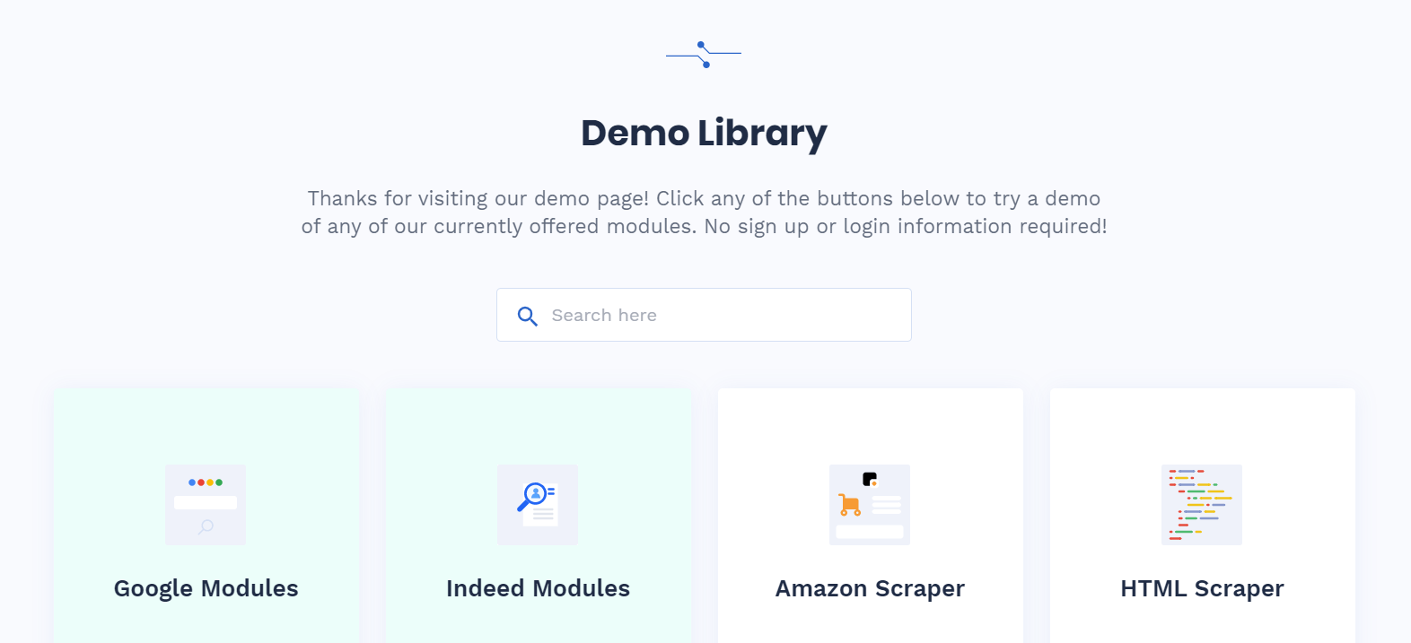 Demos Library