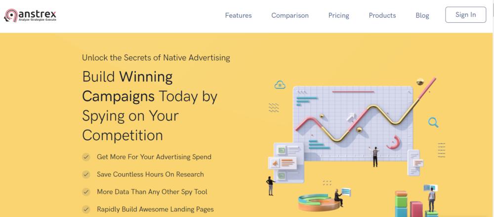 Best Ads Spy Tools - Anstrex