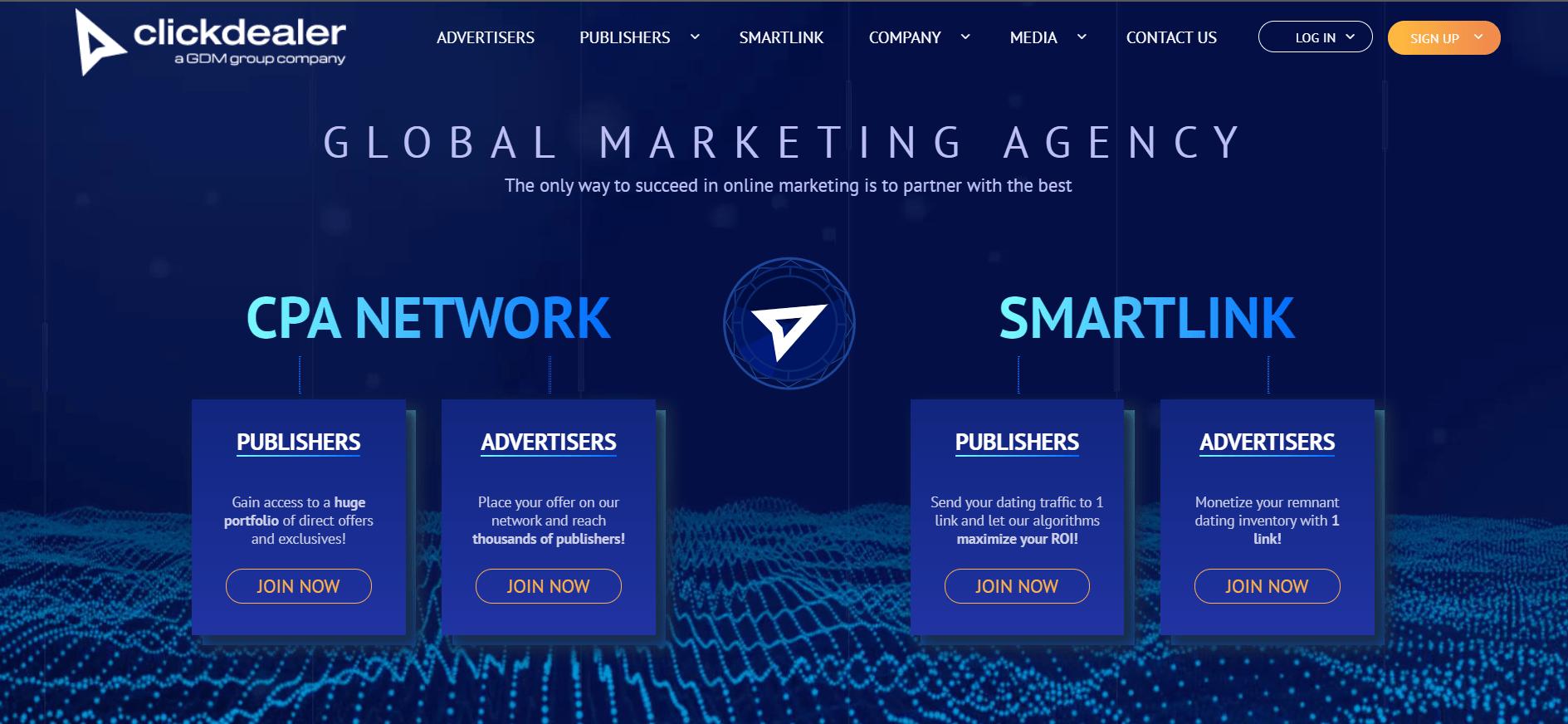 Clickdealer - Affiliate Network