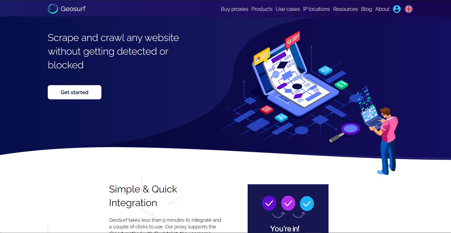 GeoSurf - Best US Proxy Provider