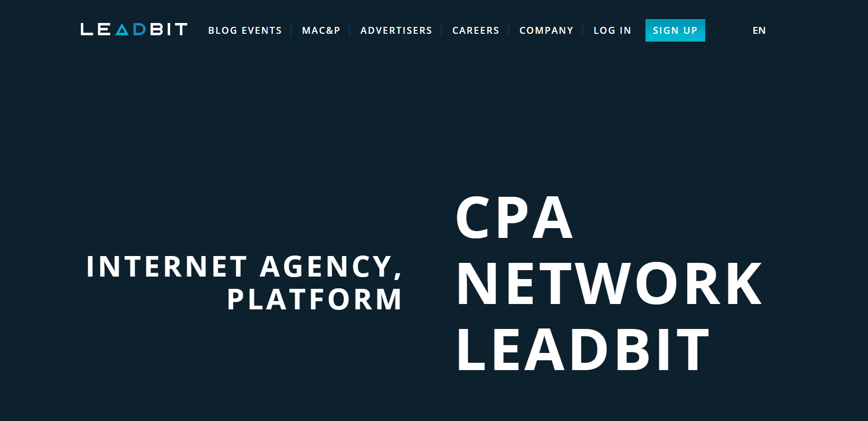Best Ad Network- Leadbit