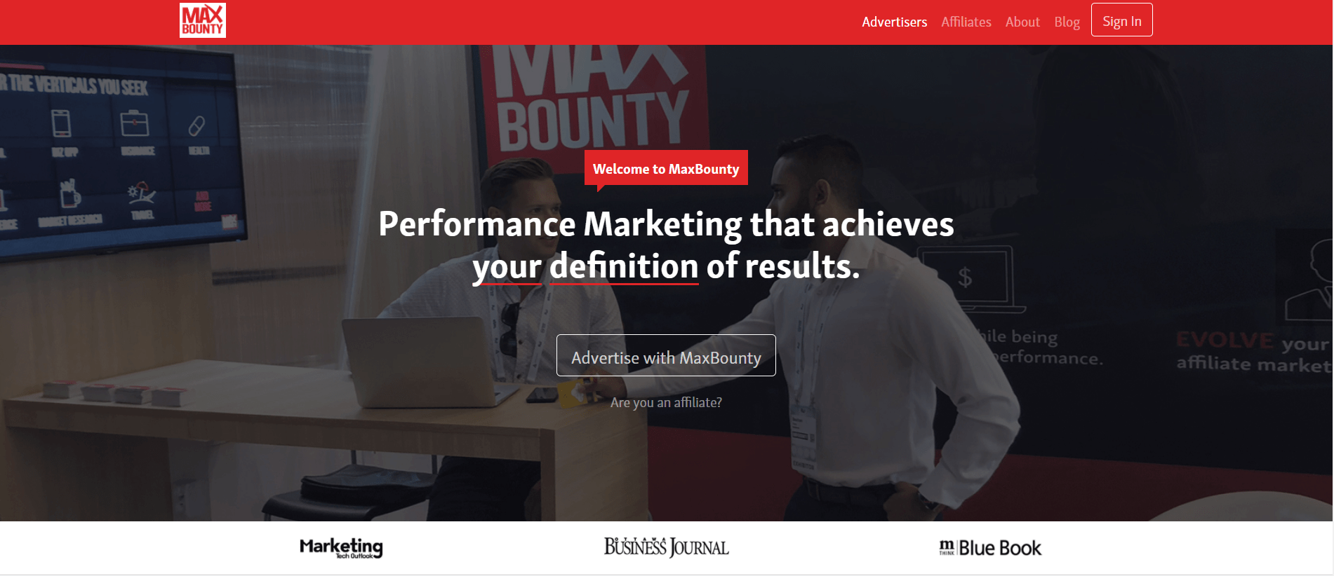 MaxBounty - Best Affiliate Networks