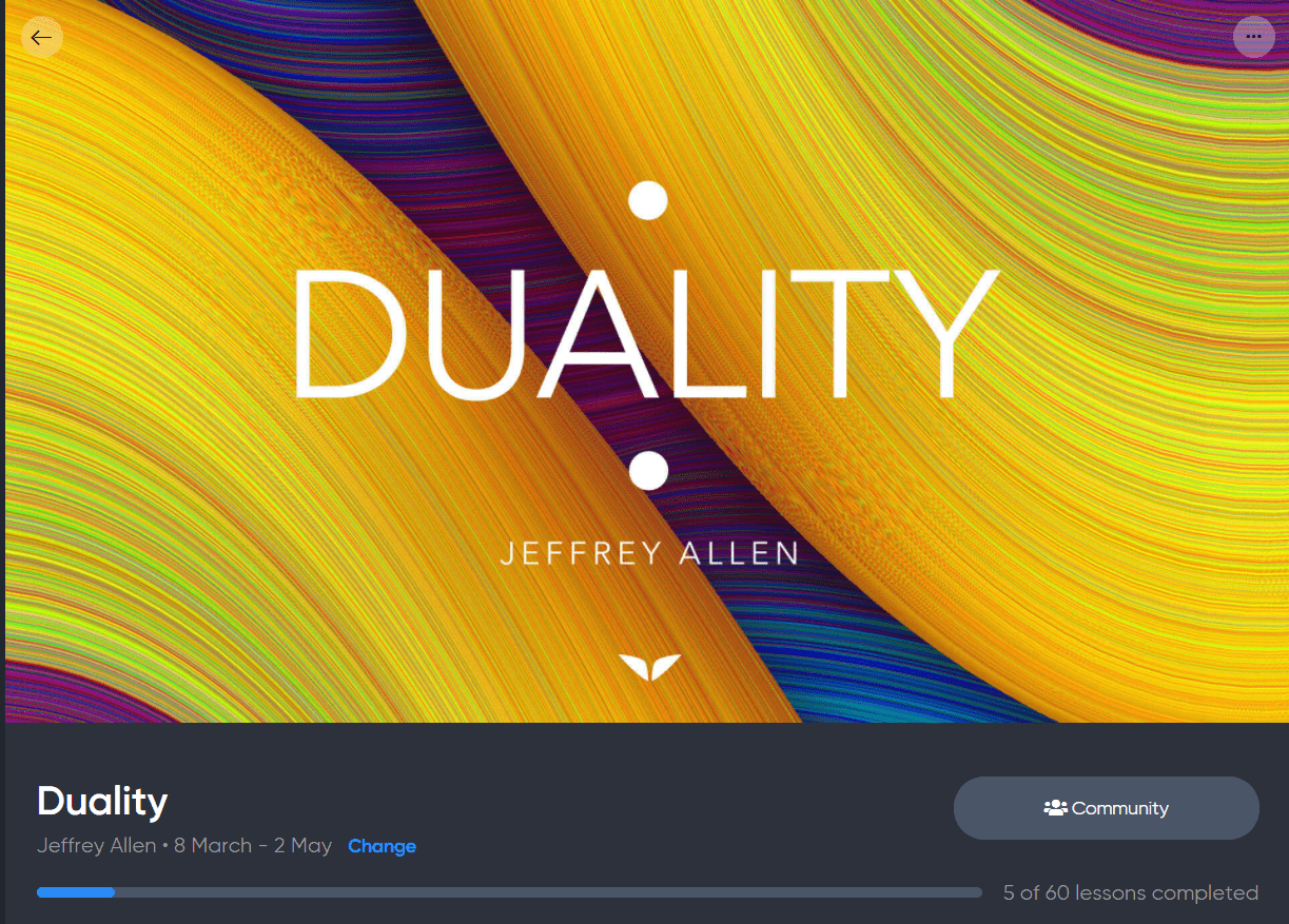 Mindvalley Duality Course