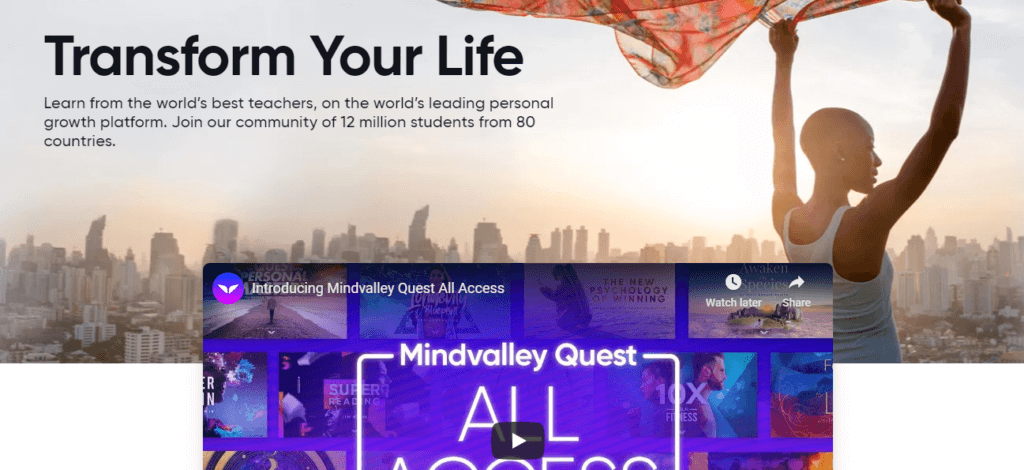 Mindvalley Review - Academy