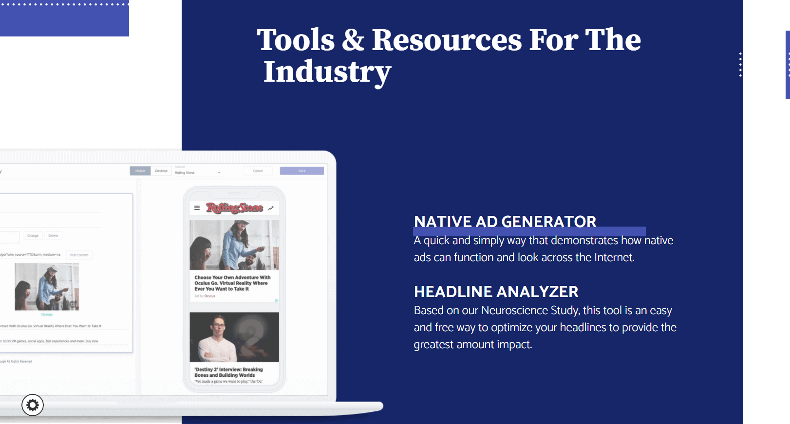 Sharethrough Tools & Resources For The Industry