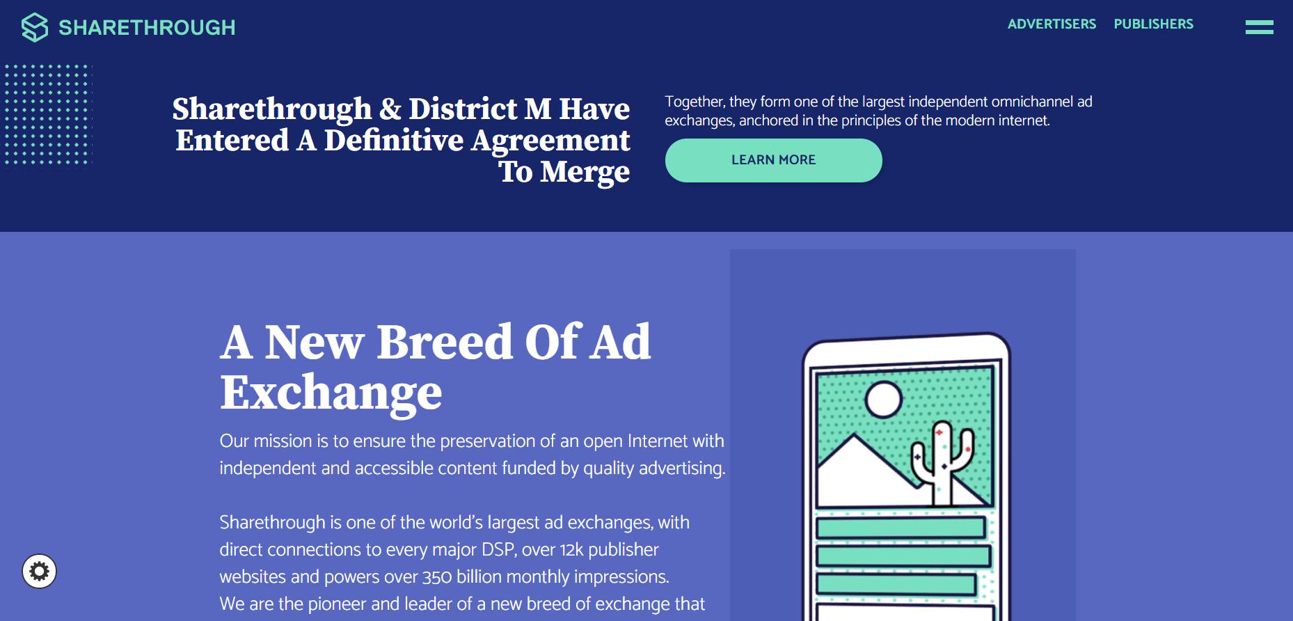 Best Ad Network - Sharethrough