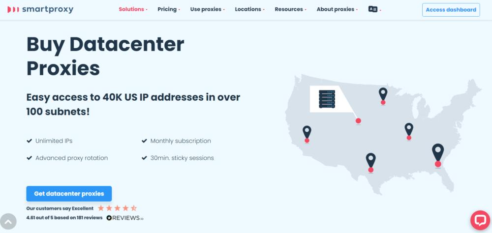 Smart Proxy Datacenter