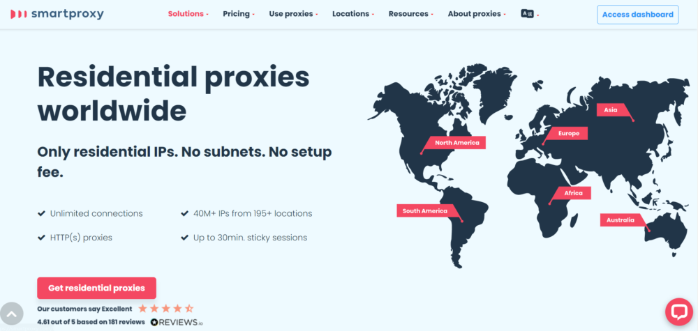 Smart Proxy Residential