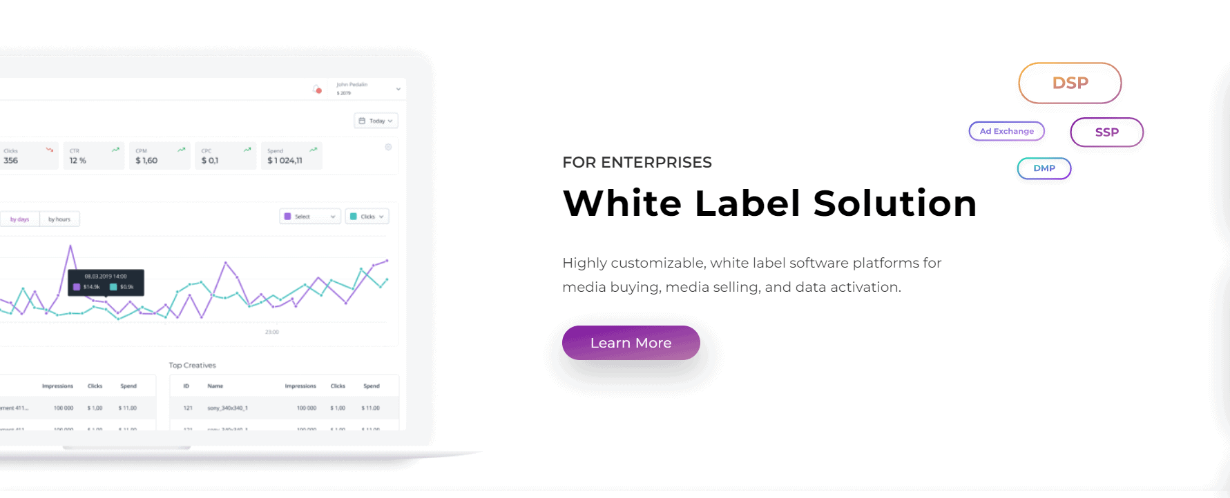 SmartyAds White Label Solution