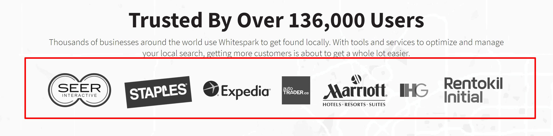 Whitespark customers- whitespark review